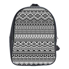 Aztec Pattern Design School Bags(large)