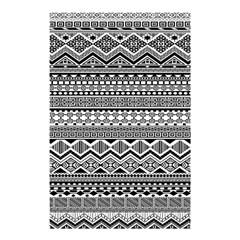 Aztec Pattern Design Shower Curtain 48  X 72  (small)  by BangZart