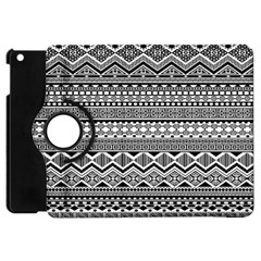 Aztec Pattern Design Apple Ipad Mini Flip 360 Case by BangZart