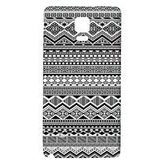 Aztec Pattern Design Galaxy Note 4 Back Case