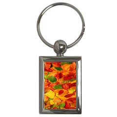 Leaves Texture Key Chains (rectangle)