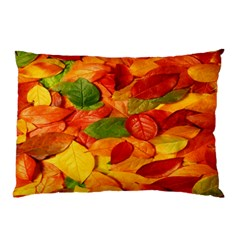Leaves Texture Pillow Case