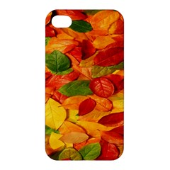 Leaves Texture Apple Iphone 4/4s Hardshell Case by BangZart