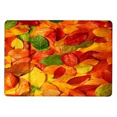 Leaves Texture Samsung Galaxy Tab 10 1  P7500 Flip Case