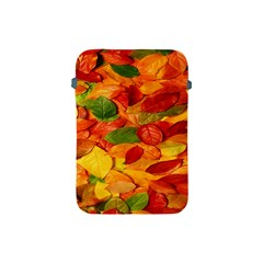 Leaves Texture Apple Ipad Mini Protective Soft Cases by BangZart