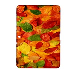 Leaves Texture Samsung Galaxy Tab 2 (10 1 ) P5100 Hardshell Case  by BangZart