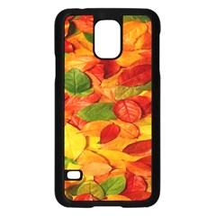 Leaves Texture Samsung Galaxy S5 Case (black) by BangZart
