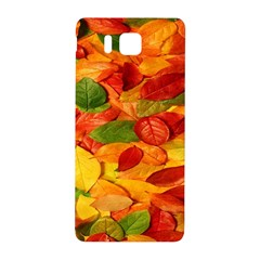 Leaves Texture Samsung Galaxy Alpha Hardshell Back Case by BangZart