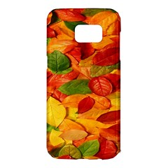 Leaves Texture Samsung Galaxy S7 Edge Hardshell Case