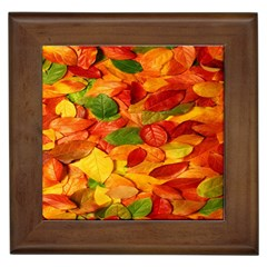 Leaves Texture Framed Tiles by BangZart