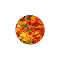 Leaves Texture Golf Ball Marker (4 Pack)