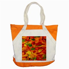 Leaves Texture Accent Tote Bag