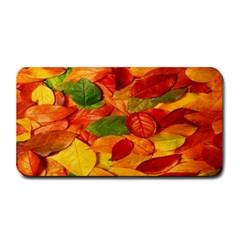 Leaves Texture Medium Bar Mats by BangZart