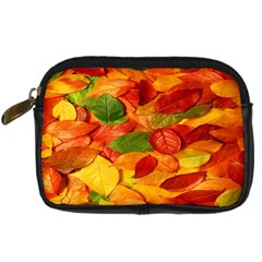 Leaves Texture Digital Camera Cases by BangZart
