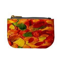 Leaves Texture Mini Coin Purses by BangZart