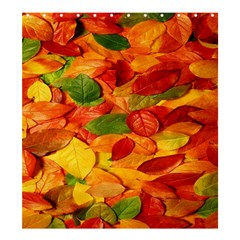 Leaves Texture Shower Curtain 66  X 72  (large)