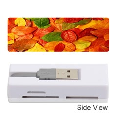 Leaves Texture Memory Card Reader (stick)