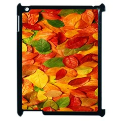 Leaves Texture Apple Ipad 2 Case (black) by BangZart