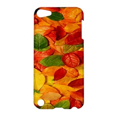 Leaves Texture Apple Ipod Touch 5 Hardshell Case by BangZart