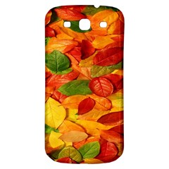 Leaves Texture Samsung Galaxy S3 S Iii Classic Hardshell Back Case by BangZart