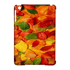 Leaves Texture Apple Ipad Mini Hardshell Case (compatible With Smart Cover) by BangZart