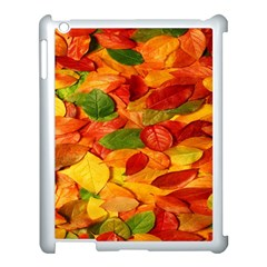 Leaves Texture Apple Ipad 3/4 Case (white) by BangZart