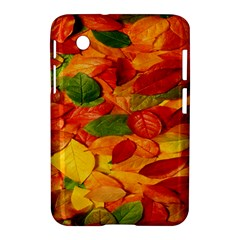 Leaves Texture Samsung Galaxy Tab 2 (7 ) P3100 Hardshell Case  by BangZart