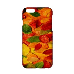 Leaves Texture Apple Iphone 6/6s Hardshell Case by BangZart