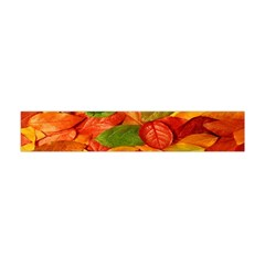 Leaves Texture Flano Scarf (mini) by BangZart