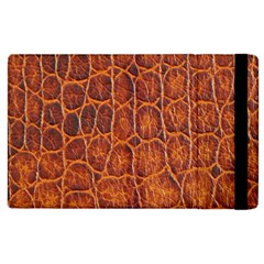 Crocodile Skin Texture Apple Ipad 3/4 Flip Case by BangZart