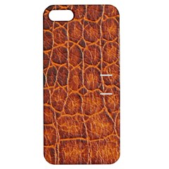Crocodile Skin Texture Apple Iphone 5 Hardshell Case With Stand by BangZart