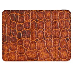 Crocodile Skin Texture Samsung Galaxy Tab 7  P1000 Flip Case by BangZart