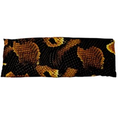 Gold Snake Skin Body Pillow Case (dakimakura)