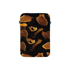 Gold Snake Skin Apple Ipad Mini Protective Soft Cases