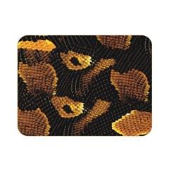 Gold Snake Skin Double Sided Flano Blanket (mini)