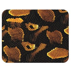 Gold Snake Skin Double Sided Flano Blanket (medium)