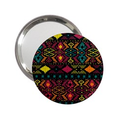 Bohemian Patterns Tribal 2 25  Handbag Mirrors