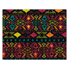 Bohemian Patterns Tribal Rectangular Jigsaw Puzzl