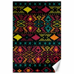 Bohemian Patterns Tribal Canvas 20  X 30