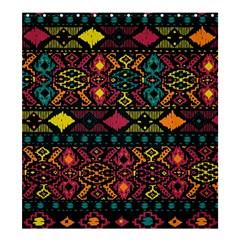 Bohemian Patterns Tribal Shower Curtain 66  X 72  (large)