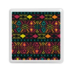 Bohemian Patterns Tribal Memory Card Reader (square)
