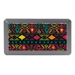 Bohemian Patterns Tribal Memory Card Reader (mini) by BangZart