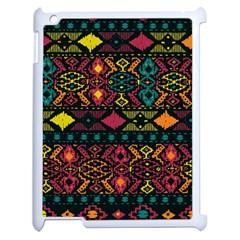 Bohemian Patterns Tribal Apple Ipad 2 Case (white)