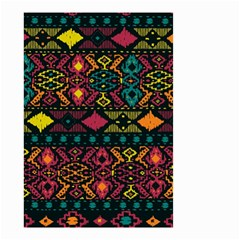 Bohemian Patterns Tribal Small Garden Flag (two Sides)