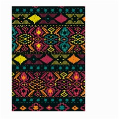 Bohemian Patterns Tribal Large Garden Flag (two Sides) by BangZart