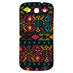 Bohemian Patterns Tribal Samsung Galaxy S3 S Iii Classic Hardshell Back Case by BangZart