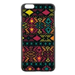 Bohemian Patterns Tribal Apple Iphone 6 Plus/6s Plus Black Enamel Case by BangZart