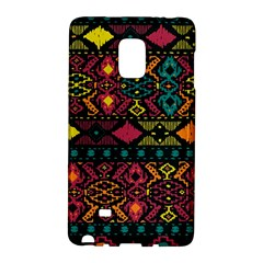 Bohemian Patterns Tribal Galaxy Note Edge