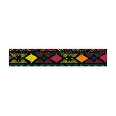 Bohemian Patterns Tribal Flano Scarf (mini)