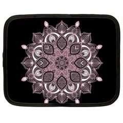 Ornate Mandala Netbook Case (xxl)  by Valentinaart
